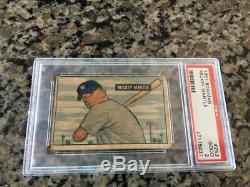 1951 Bowman Mickey Mantle rookie psa 2