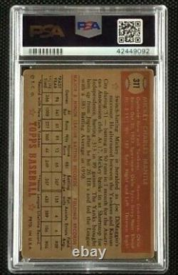 1952 Topps #311 Mickey Mantle RC PSA 1.5 FR New York Yankees Rookie Card