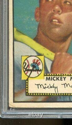 1952 Topps #311 Mickey Mantle RC PSA 2.5 Well Centered Nice Color & Eye Appeal