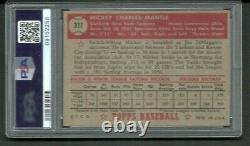 1952 Topps #311 PSA 4 Mickey Mantle- Great Centering