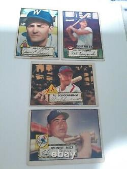 1952 Topps Baseball Near Complete Low # Set (274/310) Tons Of Stars Vg/vg+ Rare