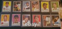 1952 Topps Complete Master Set Mickey Mantle Rc 493 Total Cards Centered Ex/mt
