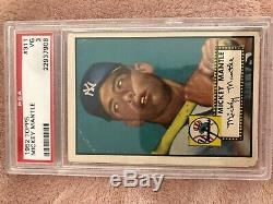 1952 Topps Mickey Mantle PSA 3 HOLY GRAIL