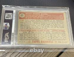 1952 Topps Mickey Mantle ROOKIE RC Card #311 PSA 1.5 FR