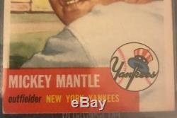 1953 Topps #82 MICKEY MANTLE BVG 5 EX Yankees 2nd Year Card