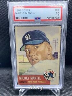 1953 Topps Mickey Mantle PSA 1.5