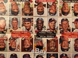 1953 Topps Uncut Sheet 100 Cards Mickey Mantle & Jackie Robinson Too Big For Psa