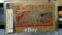 1956 Original Mickey Mantle Bvg Graded Vg-ex 4