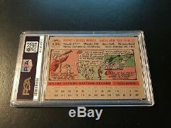 1956 Topps #135 Mickey Mantle Grey Back PSA 4.5 VG-EX+. New York Yankees
