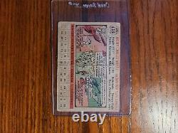 1956 Topps #135 Mickey Mantle LOW GRADE CENTERED Grey Back