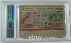 1956 Topps #135 Mickey Mantle New York Yankees Slabbed Authentic