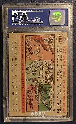 1956 Topps #135 Mickey Mantle PSA 7 (Gray Back)