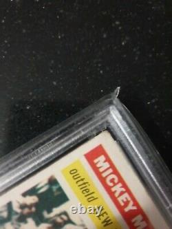 1956 Topps Mickey Mantle #135 PSA 4 (White Back)