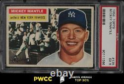 1956 Topps Mickey Mantle #135 PSA 5 EX (PWCC-A)