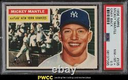 1956 Topps Mickey Mantle #135 PSA 8.5 NM-MT+