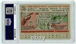 1956 Topps Mickey Mantle Baseball Card #135, Graded PSA 4 VG-EX. CENTERED