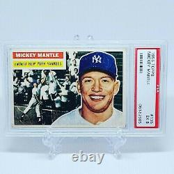 1956 Topps Mickey Mantle beautiful card #135 PSA 5 EX