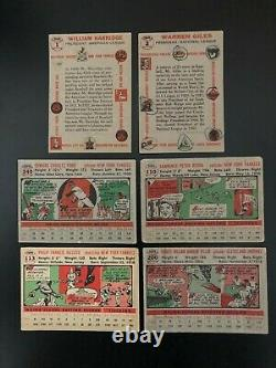 1956 Topps Near Complete Set 338/340 Cards Mantle Aaron Mays Clemente Koufax ++