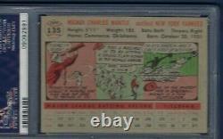 1956 Topps No. 135 Mickey Mantle Psa 8 Near Mint/mint Centered