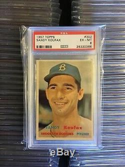 1957 Topps Baseball Complete Set- 100% PSA Graded