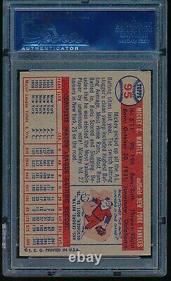 1957 Topps Mickey Mantle #95 PSA 6 + WELL CENTERED