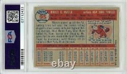1957 Topps Mickey Mantle #95 PSA 8 P681
