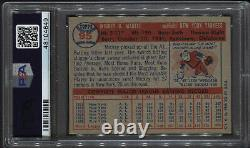 1957 Topps Mickey Mantle #95 Psa 6 ++ High-end Beautiful Centering Yankees