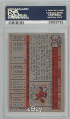 1957 Topps Mickey Mantle PSA 7 Yankees