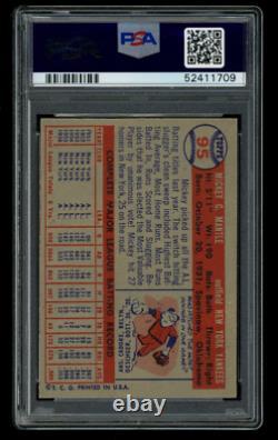 1957 Topps Set Break #95 Mickey Mantle Psa 5.5 Ex+