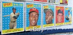 1958 Topps Baseball Complete Set Mantle Clemente Maris Rc Overall Vg+/vgex