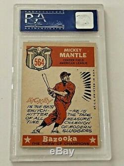 1959 Topps Mickey Mantle All-Star #564 HOF PSA 7- High End
