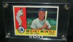 1960 Topps Mickey Mantle New York Yankees HOF #350 NM