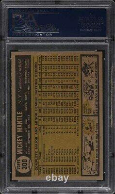 1961 Topps Mickey Mantle #300 PSA 6 EXMT