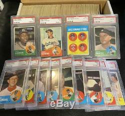 1963 Topps Baseball Complete Set (576) Overall EX Mantle Pete Rose RC PSA
