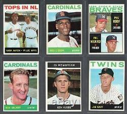 1964 Topps Baseball Complete Set