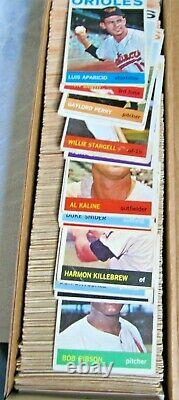 1964 Topps Baseball Complete Set Mantle Clemente Koufax Rose Aaron Vgex+ Nice