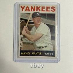 1964 Topps Mickey Mantle New York Yankees #50 Baseball Card Shipped First Class