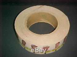 1966 Topps B/b Rub Offs Factory Mickey Mantle Roll 380ct