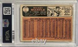 1966 Topps Mickey Mantle #50 PSA 1 New York Yankees HOF Baseball Card