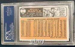 1966 Topps Mickey Mantle Yankees Baseball Card PSA 5 EX #50