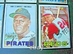 1967 Topps Baseball Near Complete Set (524/609) Mantle Seaver Sgc 6 + 21 Hi#s Ex