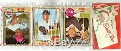 1968 Topps Holiday SHOWING FRONT TOP RACK CELLO MICKEY MANTLE VINTAGE 1960S