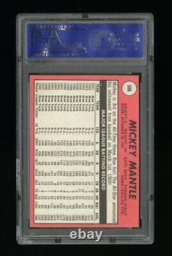 1969 Topps Set Break #500 Mickey Mantle PSA 7 NM