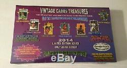 2014 Vintage Cards Treasures 1952 Topps Mantle Rookie Chase Box Baseball Packs