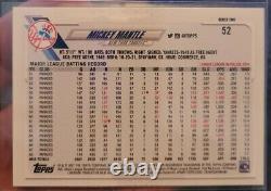2021 Topps Series 2 MICKEY MANTLE Ultra Short Print SSSP 1952 Variation RARE