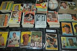 HIGH DOLLAR SPORTS CARD COLLECTION! VINTAGE, STARS, RCs, AUTOs, SETS, WAX, INSERTS, ETC