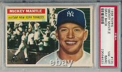 Mickey Mantle 1956 Topps PSA 8 (MK) Centered Great Investment