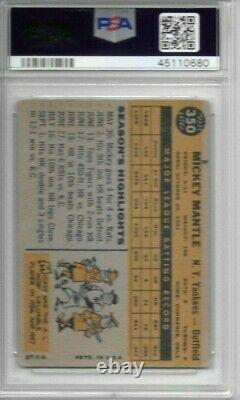 Mickey Mantle 1960 Topps Psa 2! Centered/just Graded/amazing Eye Appeal