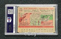 New York Yankees Mickey Mantle 1956 Topps #135 PSA 4 Vg-Ex Gray Back