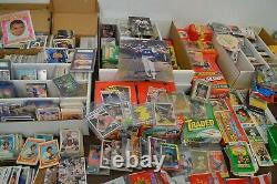 Nice Large Sports Card Collection! 1958 Topps Mantle & Aaron Card, Etc
